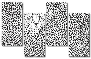 Леопардовый ковер