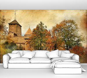 Замок. Художественная фотография в стиле ретро