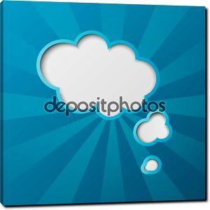 бумажные облака