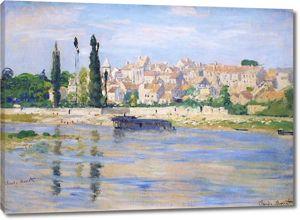 Моне Клод. Сен-Дени, 1872