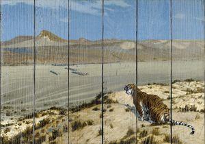 Жером. Настороженный тигр