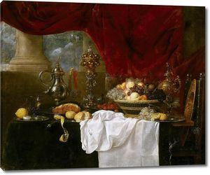 Бенедетти Андриес. Стол с десертом