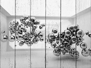 Абстрактные сферы в футуристический номер