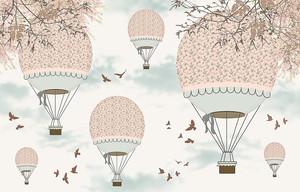 Нежные воздушные шары