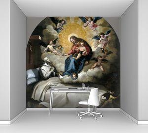 Кардучо Висенте. Явление Богоматери с Младенцем Петру Фаверию