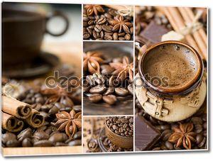 Коллаж с кофе