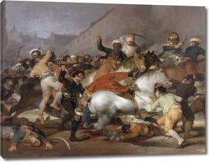 Гойя и Лусиентес Франсиско де. Восстание 2 мая 1808 года, или бой с мамлюками