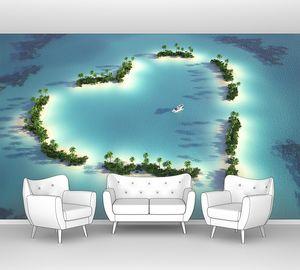 Острова в форме сердца