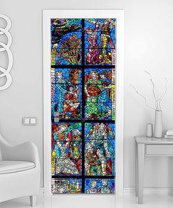 Мозаичный витраж из стекла