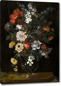 Бенито Эспинос. Цветы в вазе