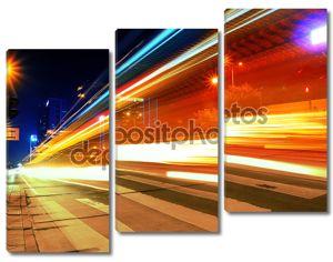 Ночное движение на улицах