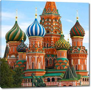 Москва, Россия, Санкт-Собор Василия Блаженного