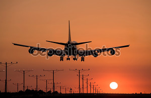 Закат посадки