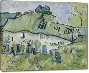 Ван Гог. Фермерский дом с двумя фигурами
