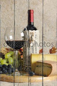 Натюрморт с вином_