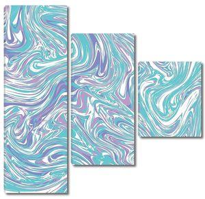 Голубой пастельный мрамор