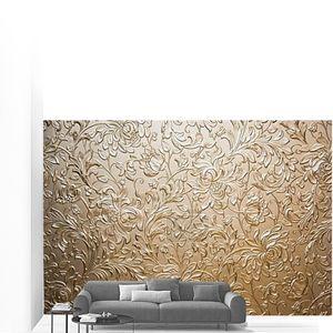 Абстрактные текстуры цветы на металл
