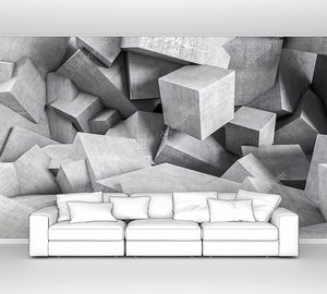 Геометрический бетонный хаос