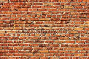 фон стены из красного кирпича