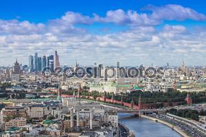 Воздушная Панорама сердца центр Москва