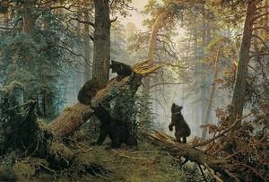 Шишкин Иван. Утро в сосновом лесу