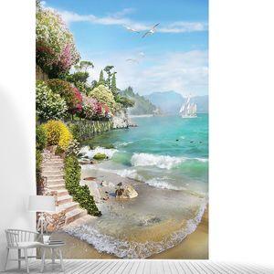 Лестница у пляжа