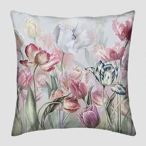 Акварель-тюльпаны