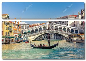 Вид на венецианский мост