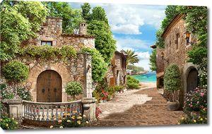 Улица к морю в старом городе