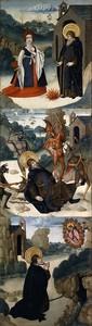 Хуан де ла Абадиа. Сцены из жизни св Антония Аббата 2