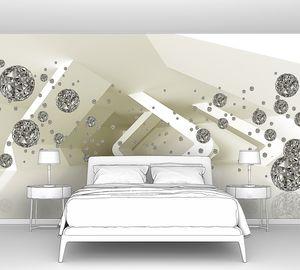 Ограненные шары у абстрактных конструкций