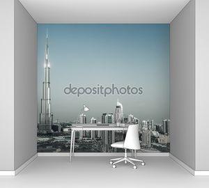 городской пейзаж Дубая