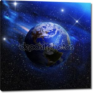 Земли из космического пространства