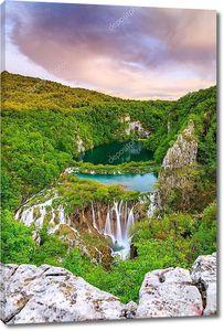 Плитвицкие озера, Хорватия