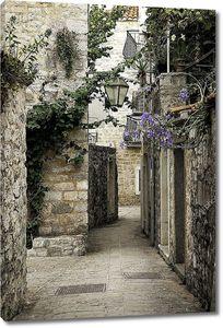 Старый город Будва улица, Черногория