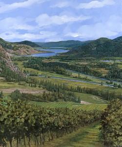 Прекрасный вид на долину