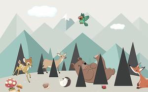 Зверята в треугольных горах