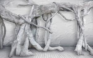 Инсталляция из корней
