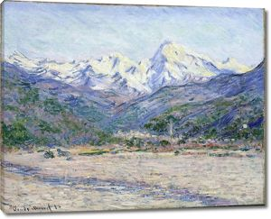 Моне Клод. Долина Нервия, 1884