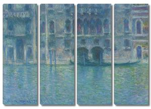 Моне Клод. Палаццо-да-Мулла, 1908 03