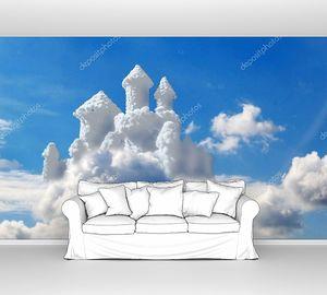 Фантазия замок в облаках