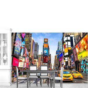 Нью-Йорк-март 25: Таймс-Сквер, лучшее с Бродвея