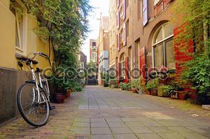 Романтический вид в Амстердаме