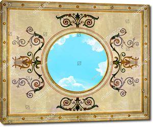 Небо с узором с лирами