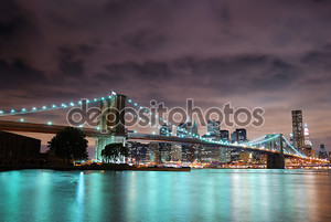 Панорама города Нью-Йорка
