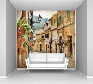 Улицы старого средиземноморского города