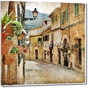 Очаровательные улицы старых средиземноморских городов