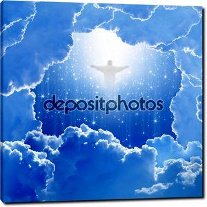 Христос в небо, Пасха