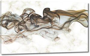 Дыма клубы на мраморе