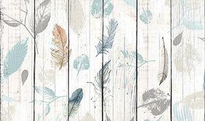 Листья на заборе